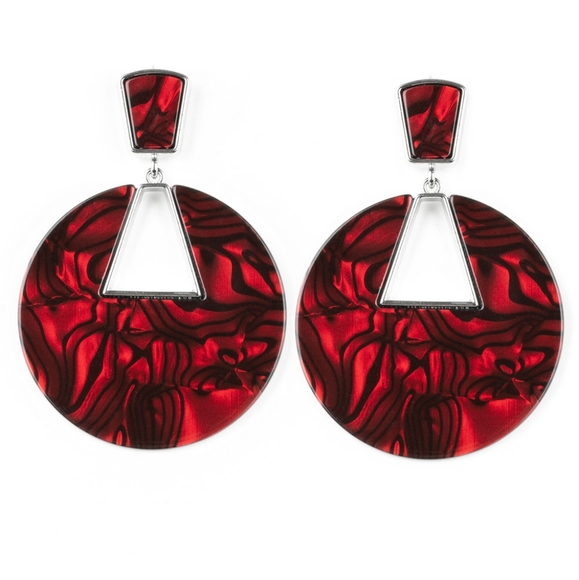 paparazzi Jewelry - Red Haute